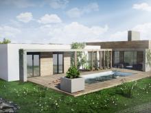 architektonická vizualizace RD