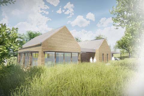 Novostavba vesnického domu